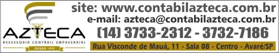 Azteca Assessoria Contábil Empresarial Avaré