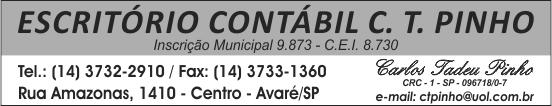 Escritório Contabil C.T. Pinho Avaré